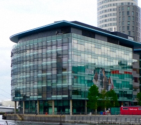 Photo of BBC offices in Salford